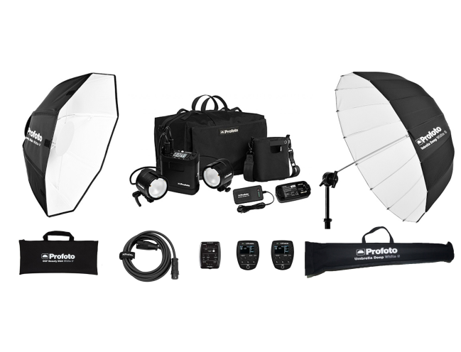 【ProfotoB2 Air TTL 2灯 KIT】