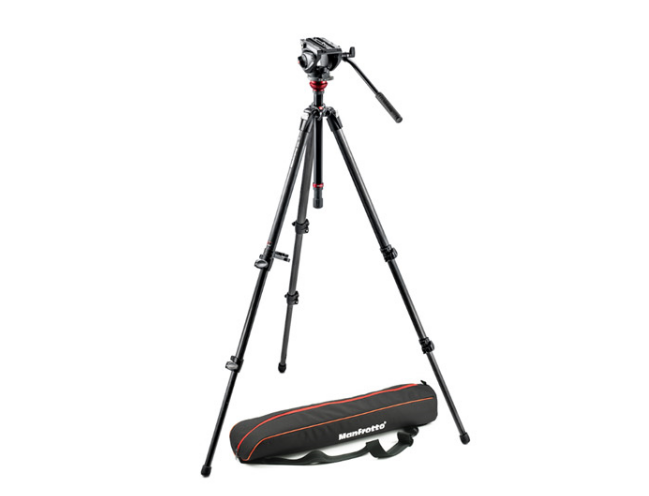 Manfrotto MVH500AH+Manfrotto 755CX3-1